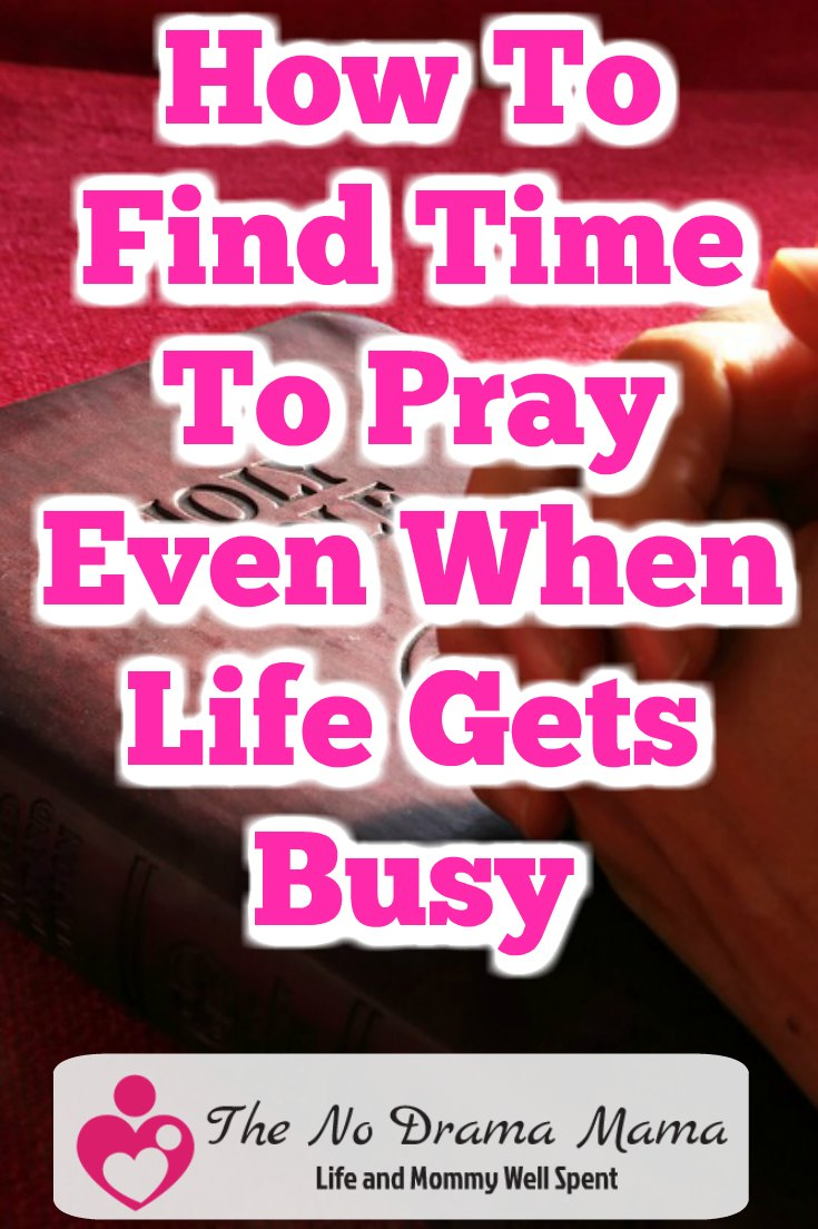 How to find time for life